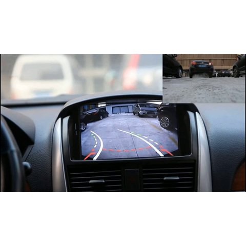 Universal Car Rear View Camera CS-8680A with Dynamic Parking Lines Preview 4