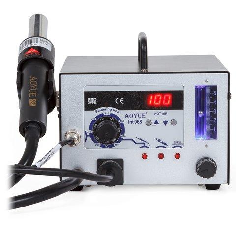 Термоповітряна паяльна станція AOYUE 968 з паяльником і димопоглиначем Прев'ю 1