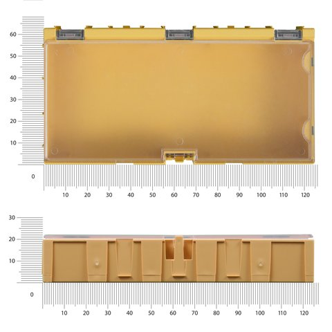 Кассетница наборная 125х65х22 мм