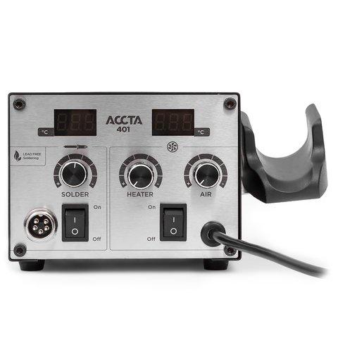 Термоповітряна паяльна станція Accta 401L Прев'ю 3